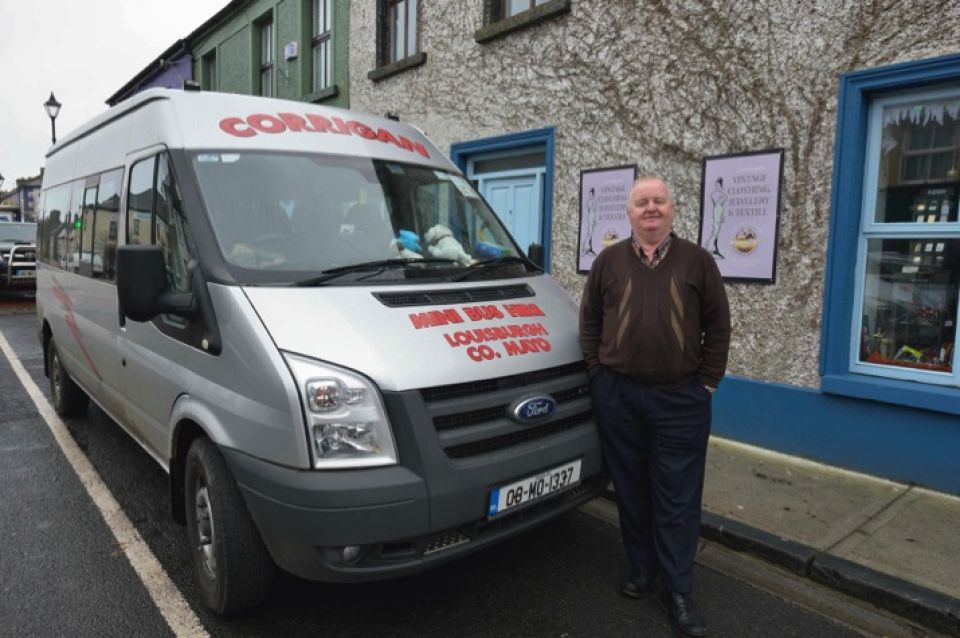 Corrigan Mini Bus Hire